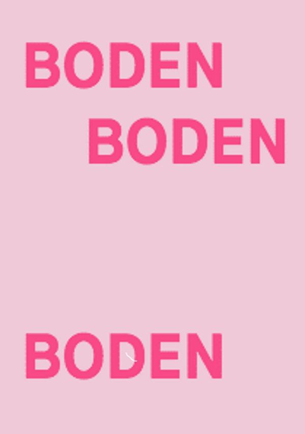 Heinrich Dunst – BODEN/BODEN/ BODEN