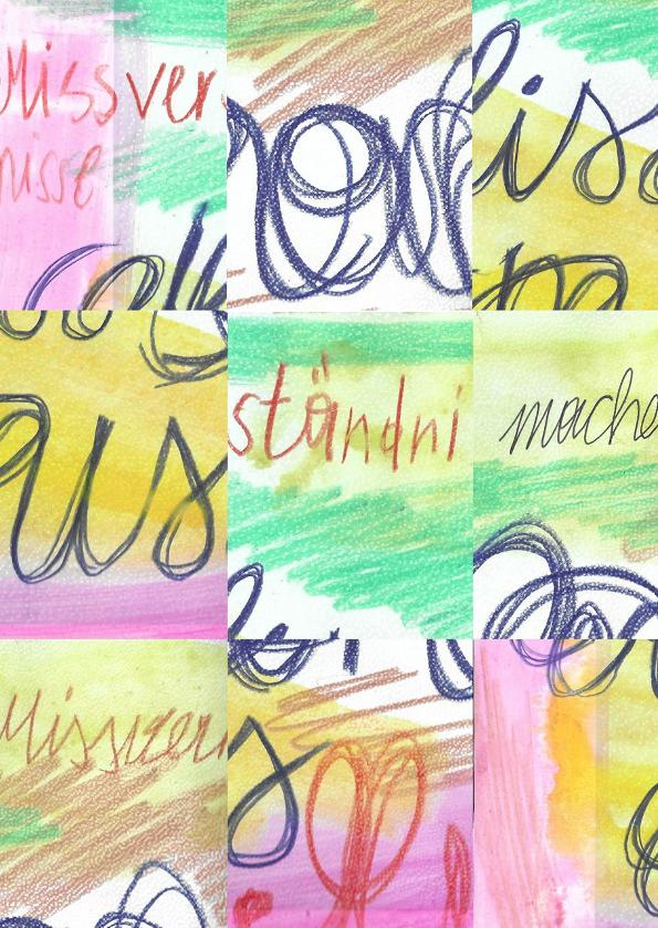 Tina Graf, Nathalie Irene Unteregger: Missverständnisse machen Missverhältnisse  // Zeitgenössische Zeichnung #7
